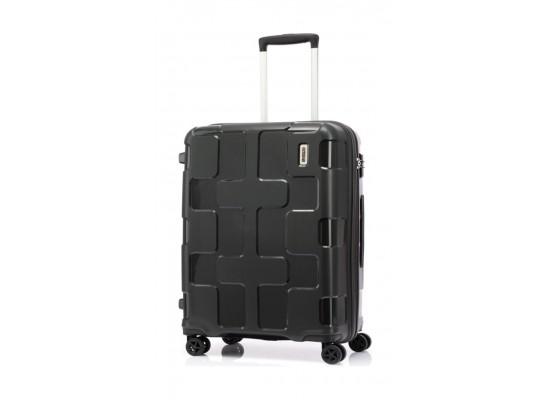 American Tourister 55CM Rumpler Spinner Hardcase Luggage - Grey