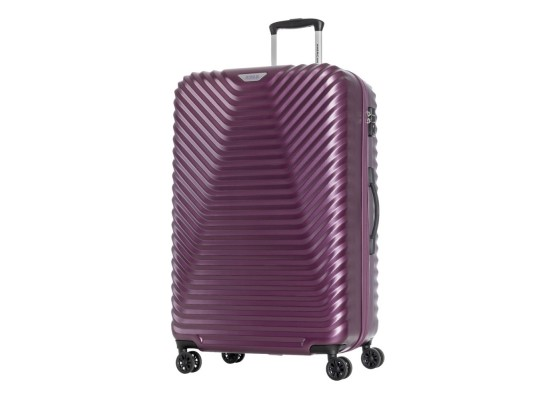 American Tourister Skycove Spinner 55CM Hardcase Luggage - Purple
