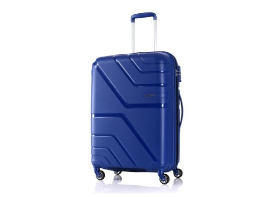 American Tourister Spinner 55/20 Hard Luggage - Blue