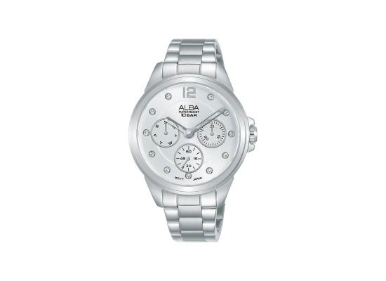 Alba 36mm Analog Ladies Metal Watch (AP6633X1) - Silver