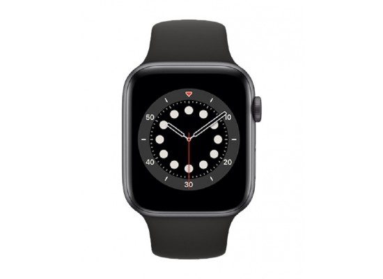 Apple Watch Series 6 GPS 40mm Aluminum Case Smart Watch - Grey / Black