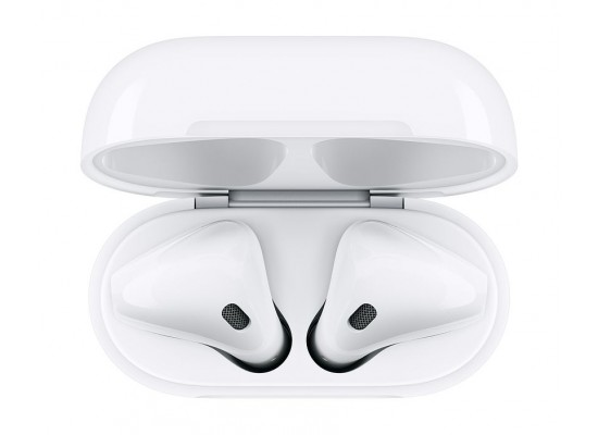 cheap for discount 69a9a 3d3a5 Apple Airpods 2 with Wireless Charger Case - MRXJ2