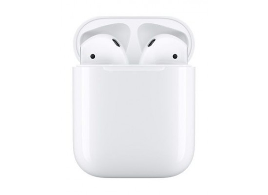 Apple Wireless AirPods MMEF2, White Case 1