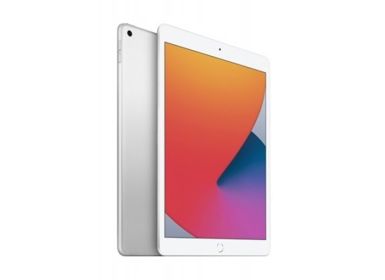 Apple iPad 7 10.2-inch 128GB Wi-Fi Only Tablet - Silver