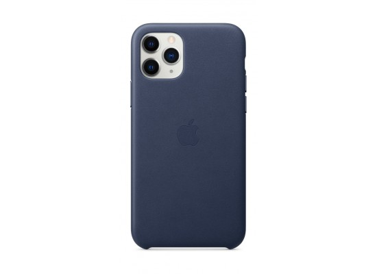 Apple iPhone 11 Pro Max Leather Case - Midnight Blue