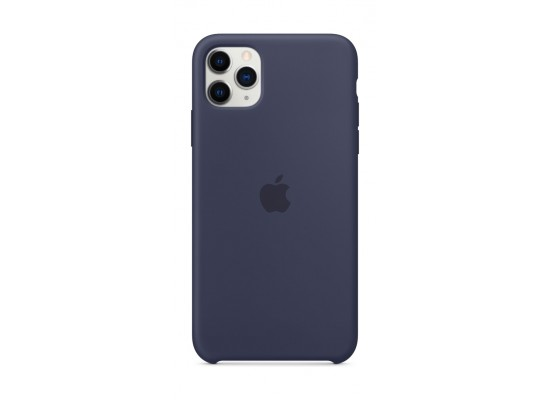 Apple iPhone 11 Pro Max Silicon Case - Midnight Blue