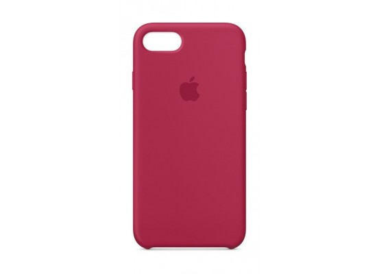 on sale 31681 2da9c Apple iPhone 8 and 7 Silicone Case - Rose Red