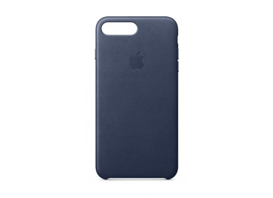 release date: 8d6e6 ced65 Apple iPhone 8 Plus and 7 Plus Leather Case - Midnight Blue Leather