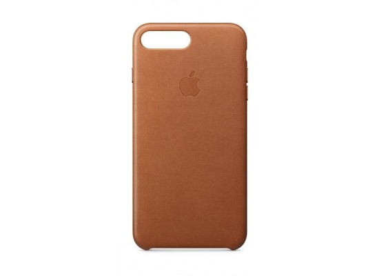 a7a403bb4d750 Apple iPhone 8 Plus and 7 Plus Leather Case - Saddle Brown Leather