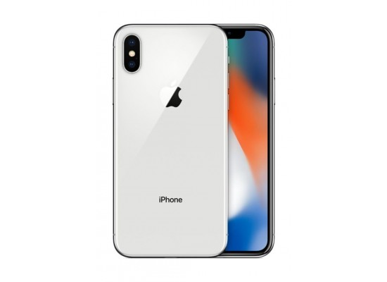 Apple iPhone X 256GB Phone - Silver