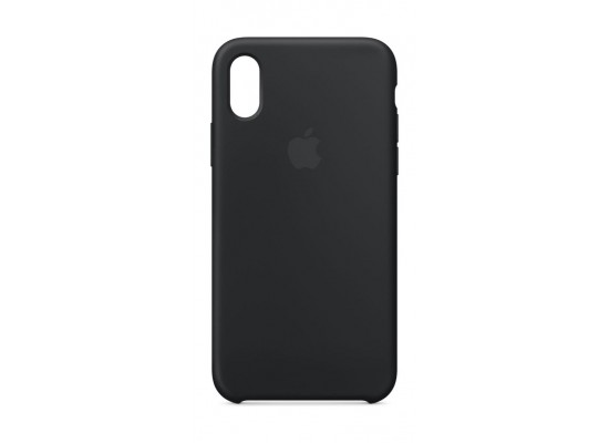 timeless design edc51 95afd Apple Silicone Case For iPhone X (MQT12ZM/A) - Black