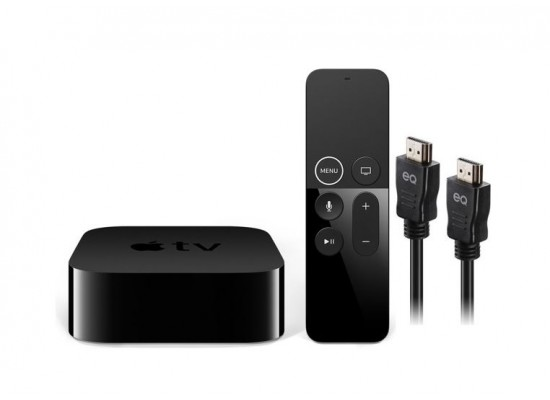 Apple TV 4K 32GB + EQ 4K HDMI Cable 1 5M
