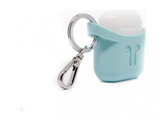 Podpockets AirPod Protection Case - Aqua Blue