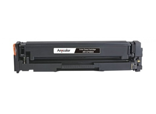 AnyColor 201X Black Toner 2800 Page Yield Printer Cartridge - AR-CF400X