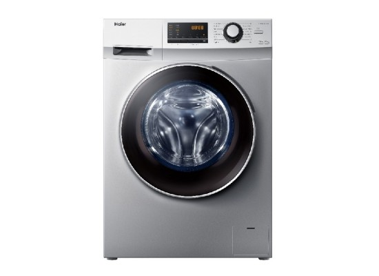 Haier Front Load 10 KG Washing Machine (HW100-14636S) - Stainless Steel
