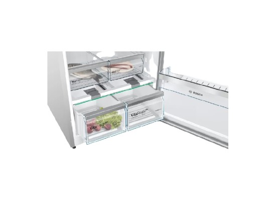Buy Bosch 24 CFT Top Mount Refrigerator (KDN86AI30M) - Inox