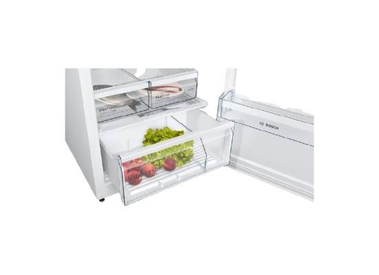 Bosch 19.8 CFT Top Mount Refrigerator (KDN56XW30M) – White