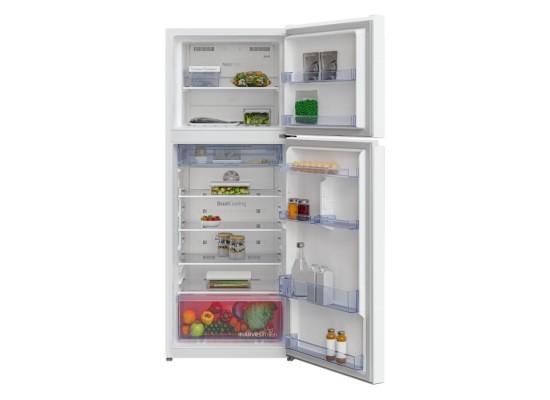 Beko 14.4 Cft Top Mount Refrigerator (RDNT401W) - White