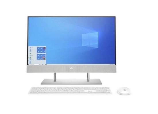 "HP 24-dp00001ne Intel Core i5 10th Gen. 8GB RAM 1TB HDD + 256GB SSD 23.8"" Desktop - Silver"