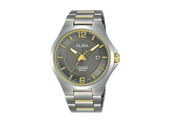 Alba Quartz 41mm Analog Gent's Metal Watch - AS9G31X1