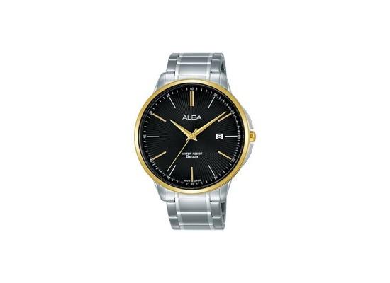 Alba 42.5mm Analog Gents Metal Watch (AS9G32X1) - Silver