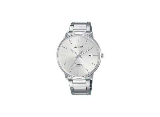 Alba 40mm Analog Gents Metal Watch (AS9G65X1) - Silver