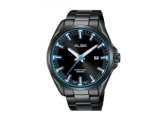Alba Quartz 44mm Analog Gent's Metal Watch - AS9G73X1