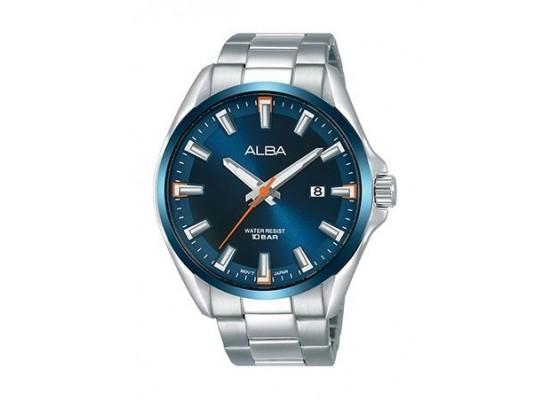 Alba Quartz 44mm Analog Gent's Metal Watch - AS9G75X1