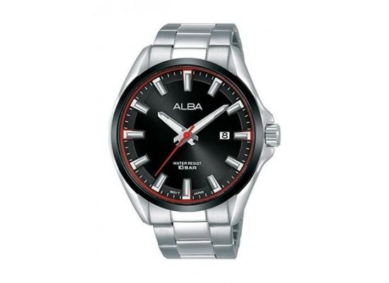 Alba Quartz 44mm Analog Gent's Metal Watch - AS9G77X1