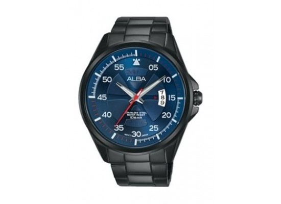 Alba Quartz 44mm Analog Gent's Metal Watch - AS9G89X1