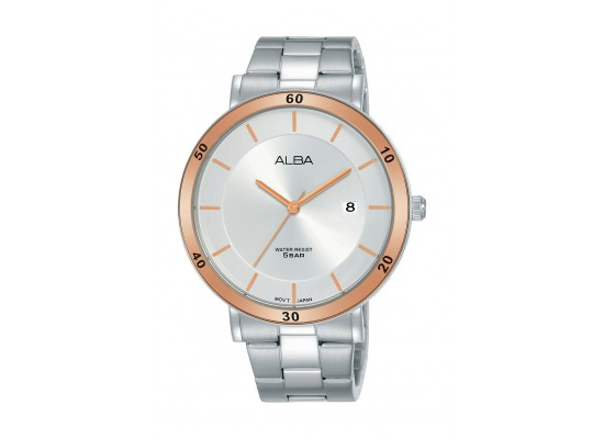 Alba 42mm Analog Gents Metal Watch - AS9H67X1