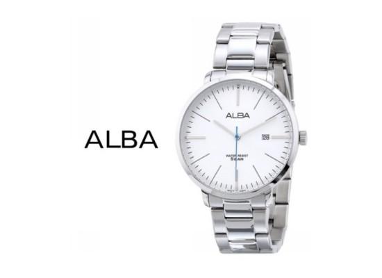 Alba 44mm Analog Gents Metal Casual Watch (AS9J85X1)