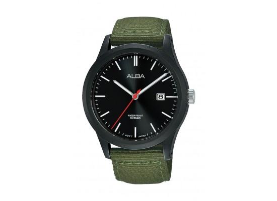 Alba 42mm Gent's Analog Nylon Sports Watch - (AS9K23X1)