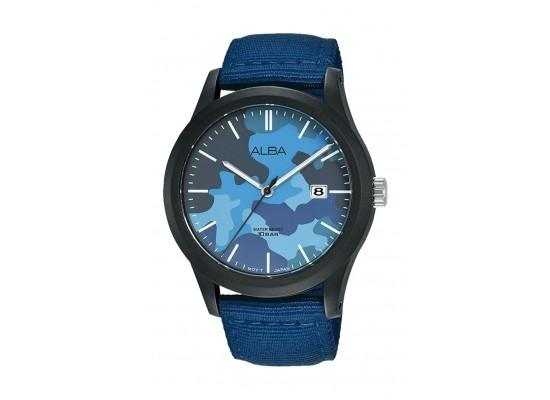 Alba 42mm Gent's Analog Silicon Sports Watch - (AS9K35X1)