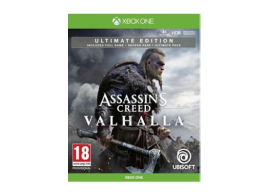 Assassin's Creed Valhallad Ultimate Edition Xbox One Game in Kuwait | Buy Online – Xcite