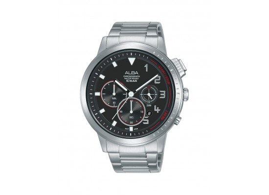 Alba 44mm Chronograph Gents Metal Casual Watch  (AT3F35X1)