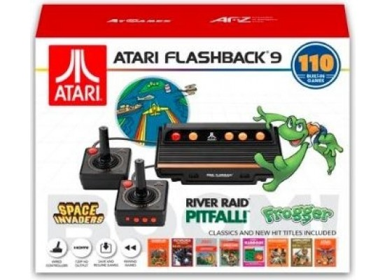 Atari Flashback 9 Console + 110 Built-in Games