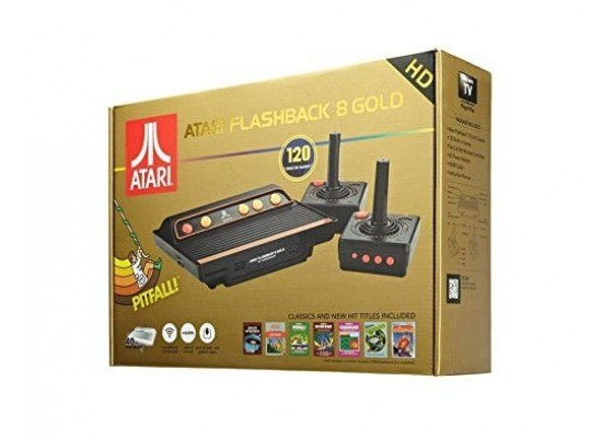 Atari Flashback 8 Gold 120 Built-In Games