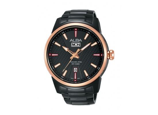 Alba AV3524X1 Gents Fashion Analog Watch - Metal Strap