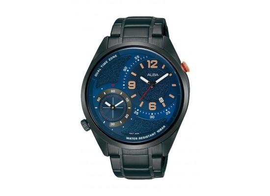 Alba 43mm Gent's Analog Dual Time Metal Watch - (AZ9017X1)