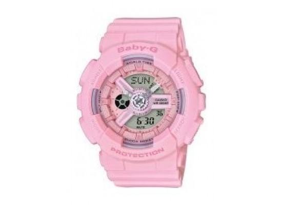 b9fe2cbd1b11 Casio Baby-G Women s Pink Dial Resin Band Watch (BA-110-4A1SDR ...