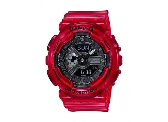 Casio Baby-G Analog-Digital Black Dial Women s Watch (BA-110CR-4ADR ... f94ff95cbe