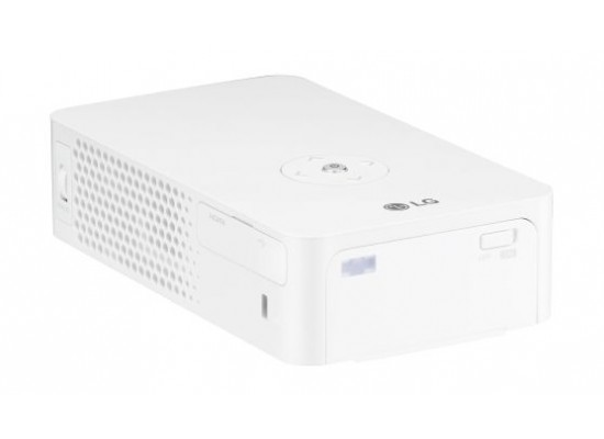 LG PH30JG HD 720p LED Portable MiniBeam Projector - Left Side View