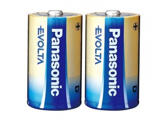 Panasonic Evolta D 2PK Battery (LR20EG/2B)