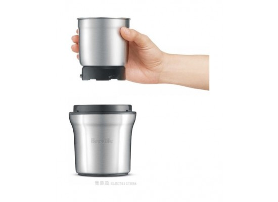 Breville 200W Coffee and Spice Grinder (BCG200) – Silver