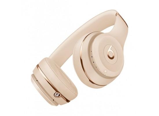 Beats Solo3 Wireless On-Ear Headphones - Satin Gold 1
