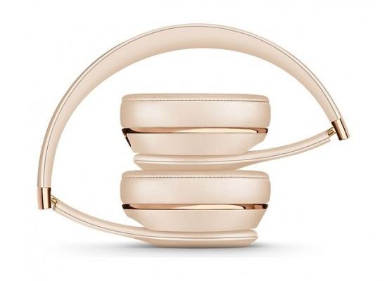 Beats Solo3 Wireless On-Ear Headphones - Satin Gold 3