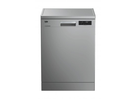 Beko 8 Program Free Standing Dishwasher - DFN28420S