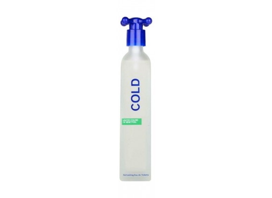 Cold Benetton by Benetton For Unisex 100 ML Eau de Toilette