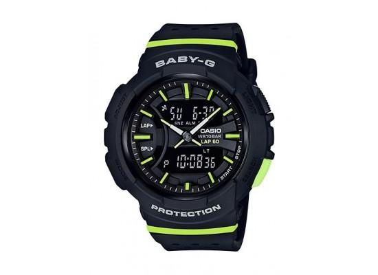 6be997055e9d4 Casio Baby-G Women s Black Ana-Digi Dial Resin Band Sport Watch (BGA ...
